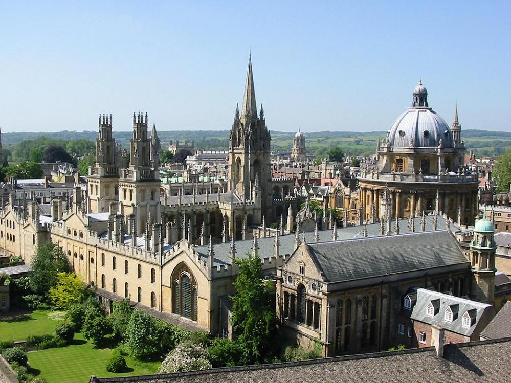 Oxford, un icono del desarrollo cultural medieval