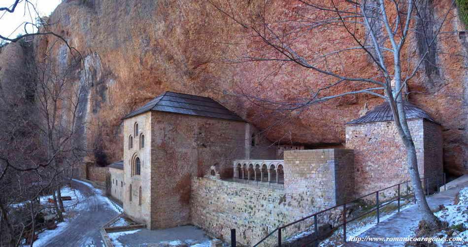 San Juan de la Peña, ejemplo de monasterio con su escuela acoplada