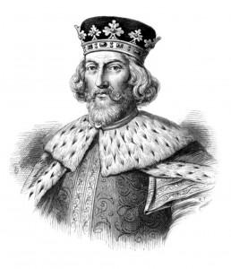(El inglés).El rey de Inglaterra Juan Sin Tierra, experto en cagarla.