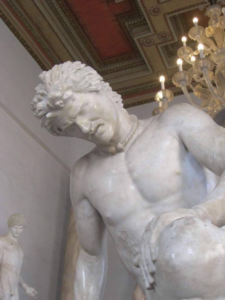 Gálata Moribundo detalle - Museo Capitolino