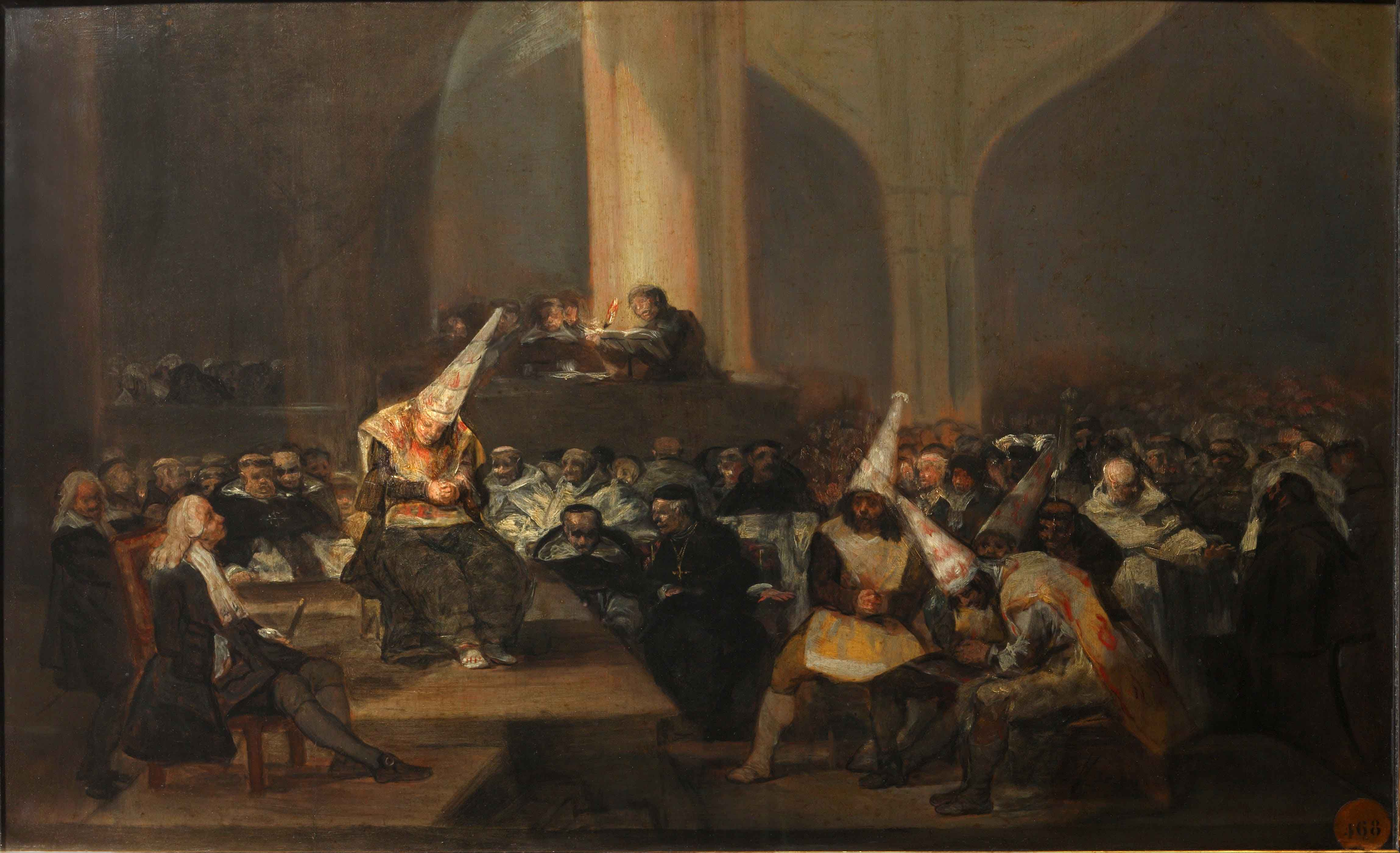judíos inquisicion goya