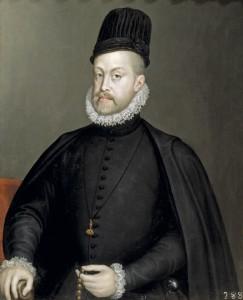 Felipe II, el rey prudente pero con un secretario tirando a malvado.