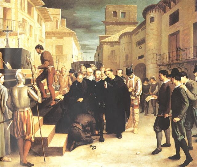 Ejecución de Juan de Lanuza