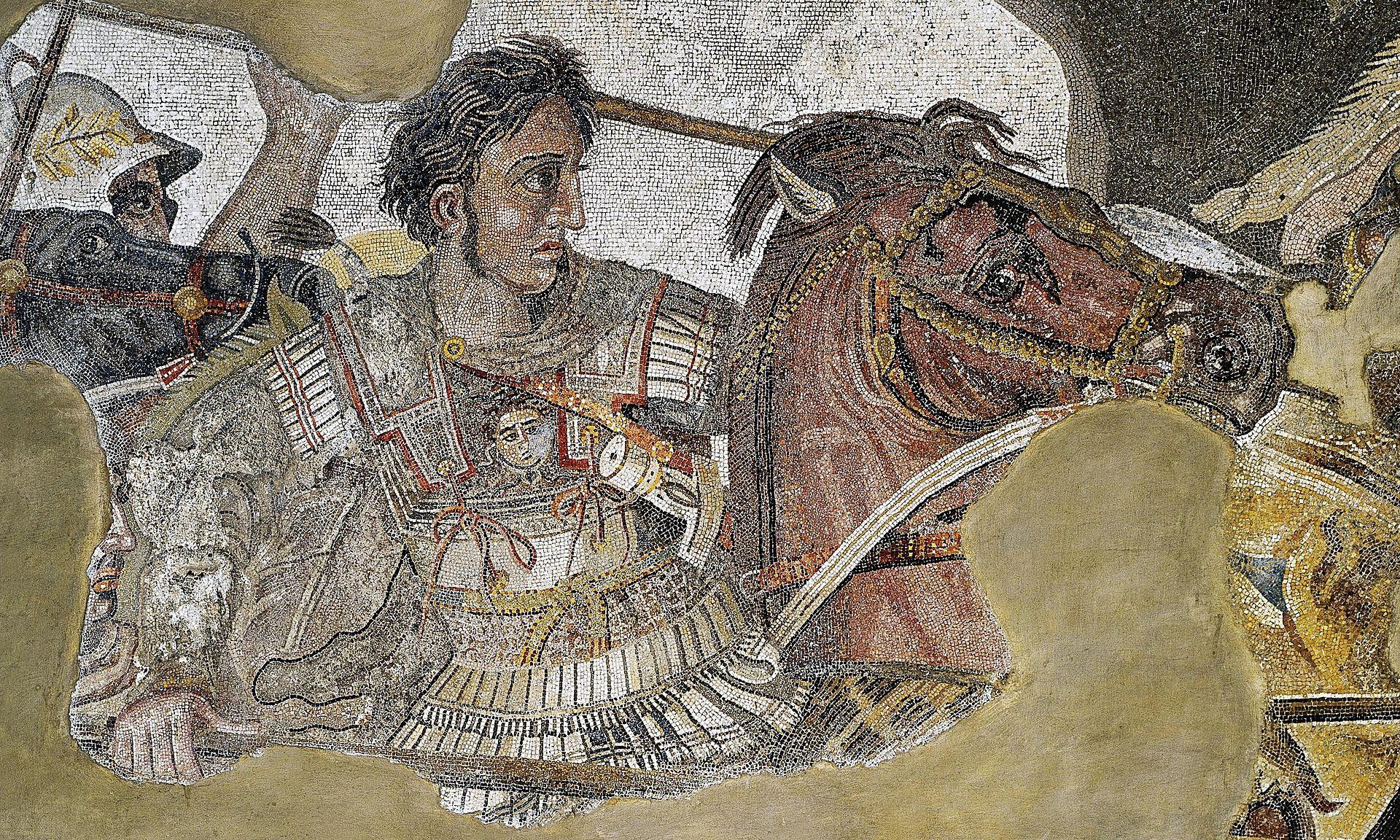 ¿Cómo? ¿Alejandro Magno? Sí, llevaba un linotórax | Wikimedia Commons
