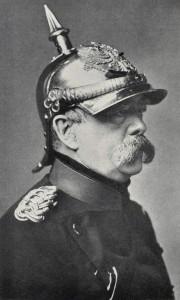 Bismarck, el Canciller de Hierro. Experto en salchichas.