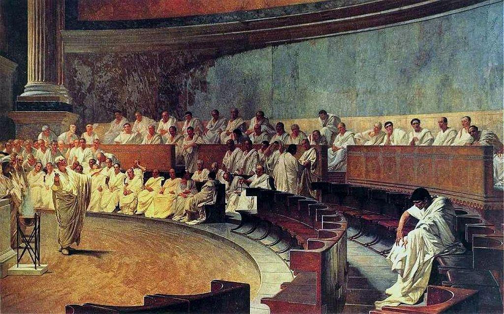 """El """"estoy hasta los cojones de todos nosotros"""" de Cicerón"""