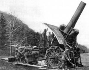 Buenos días, Lieja | El mortero Big Bertha, poca cosa