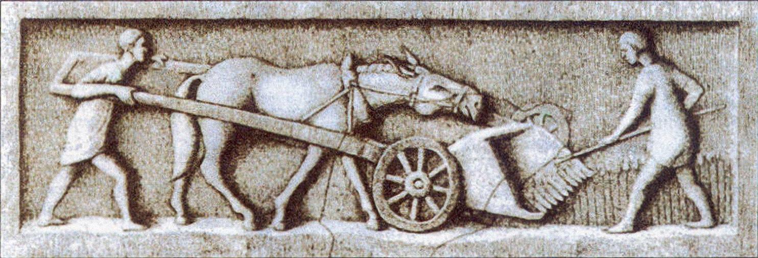 Relieve campesinos romanos