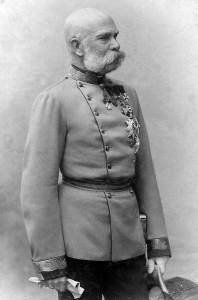 Francisco José I, emperador y barbudo