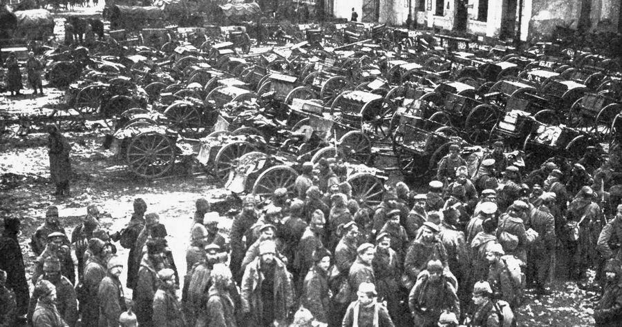 Los prisioneros rusos de Tannenberg