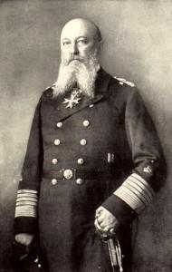 Alfred von Tirpitz, marinero y barbudo |Wikimedia Commons