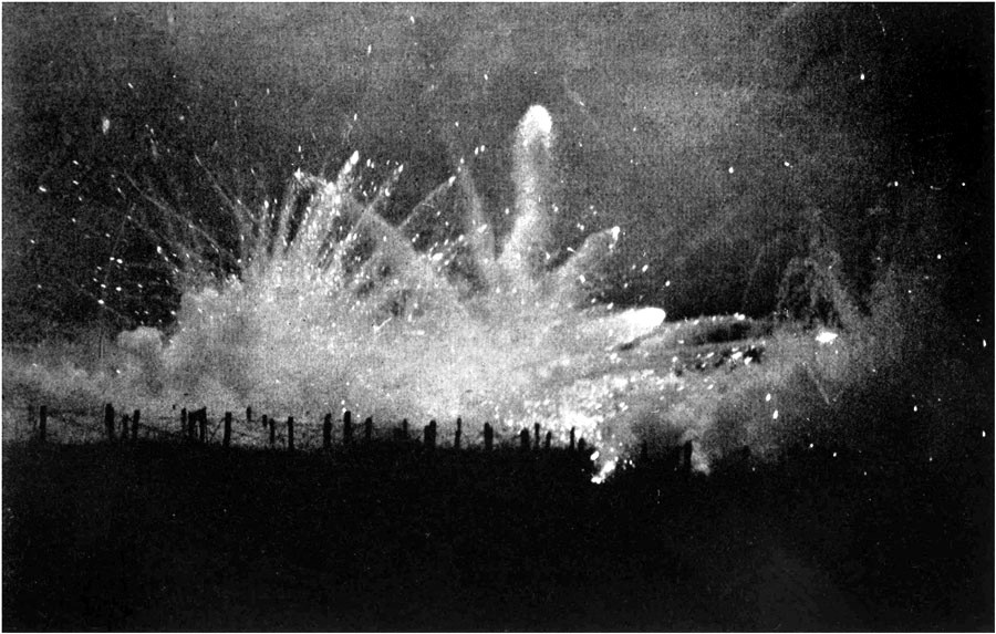 Cortina de fuego de artillería alemana | Wikimedia Commons
