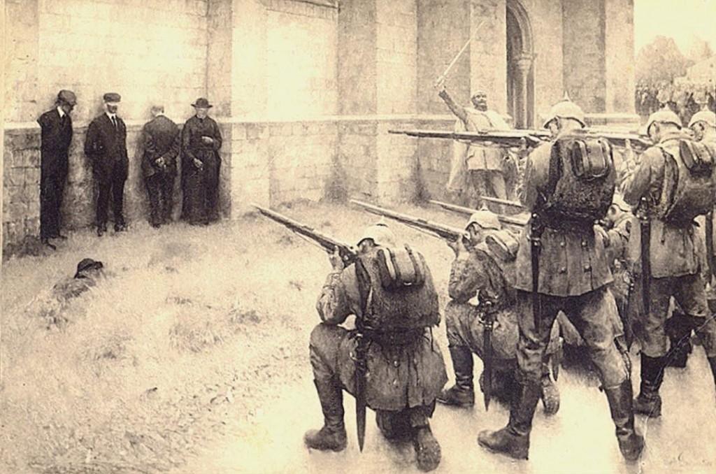 Una estampa habitual en la Bélgica invadida en 1914 | Wikimedia Commons