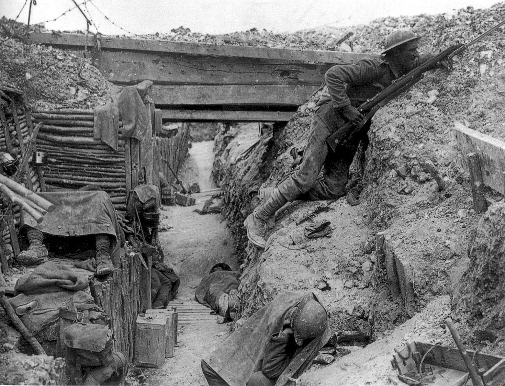 Un día cualquiera en las trincheras del Somme | Fuente