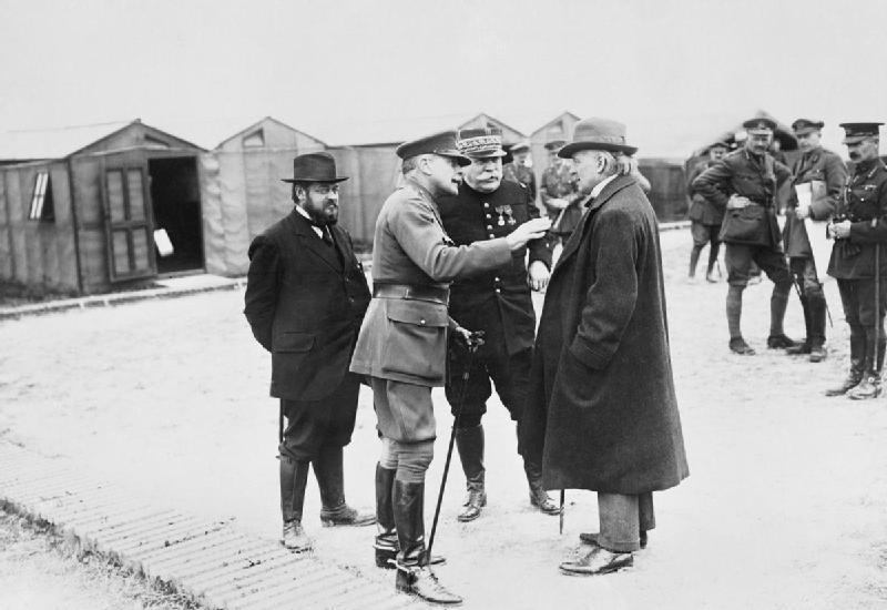 Joffre y Haig, los responsables del frente occidental