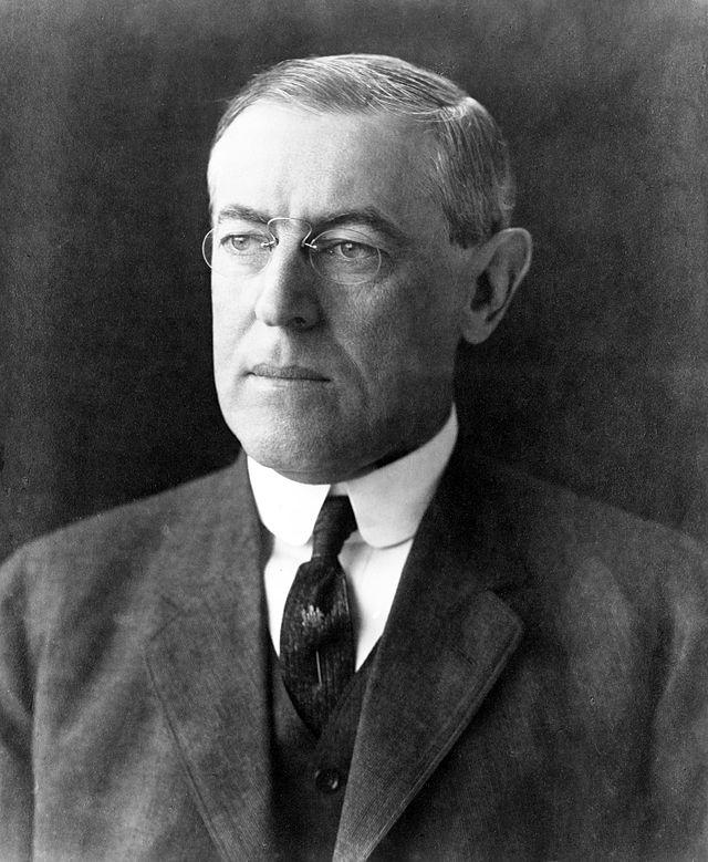 "Woodrow Wilson, ""¿La Paz? Que te folle un pez"" | Fuente"