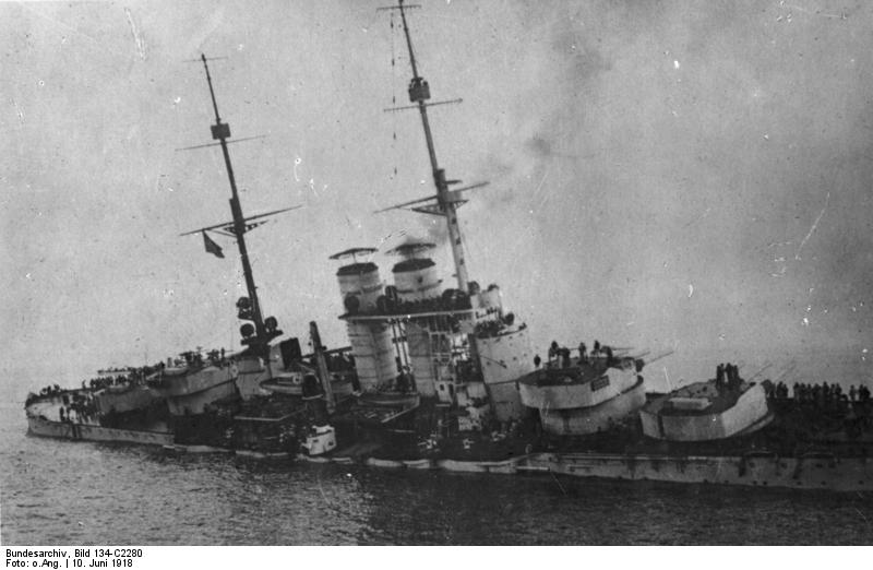 ¿Acorazados? Dos torpedos y listo (Szent István austriaco | Fuente