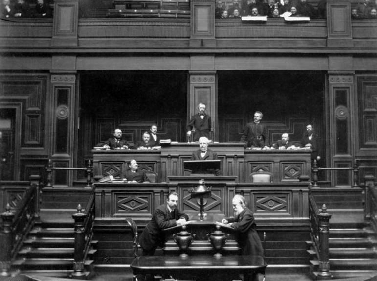 El Reichstag resolviendo cosas (pero en 1889) | Fuentes