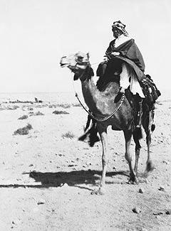 Lawrence tras la toma de Aqaba | Wikimedia Commons