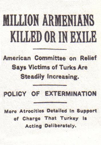 The New York Times fue uno de los diarios que más denunció el genocidio armenio | Wikimedia Commons