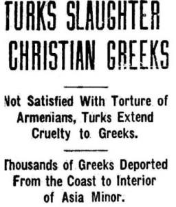 El Lincoln Daily Star se hizo eco de las matanzas de griegos en 1917 | Wikinedia Commons