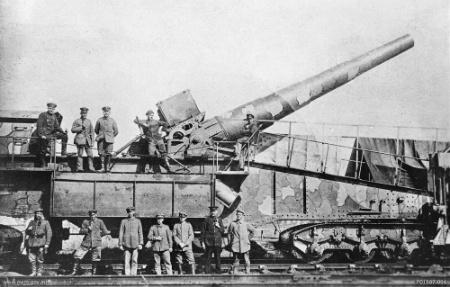 Los alemanes no pararon de transportar cosas en 1918 | Fuente