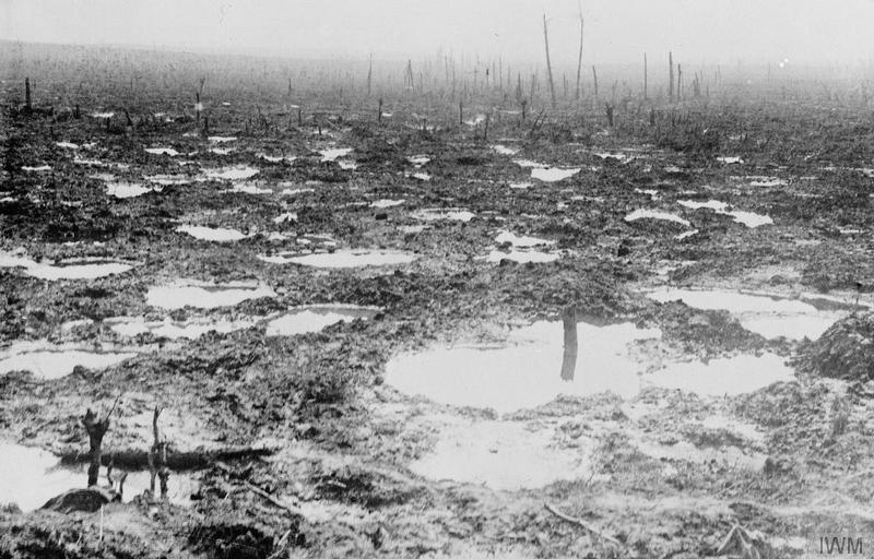 Así estaba algunos de los terrenos por los que los alemanes debían avanzar (Aisne) | Fuente