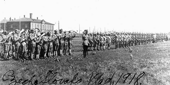 La Legión Checa en Vladivostok | Fuente