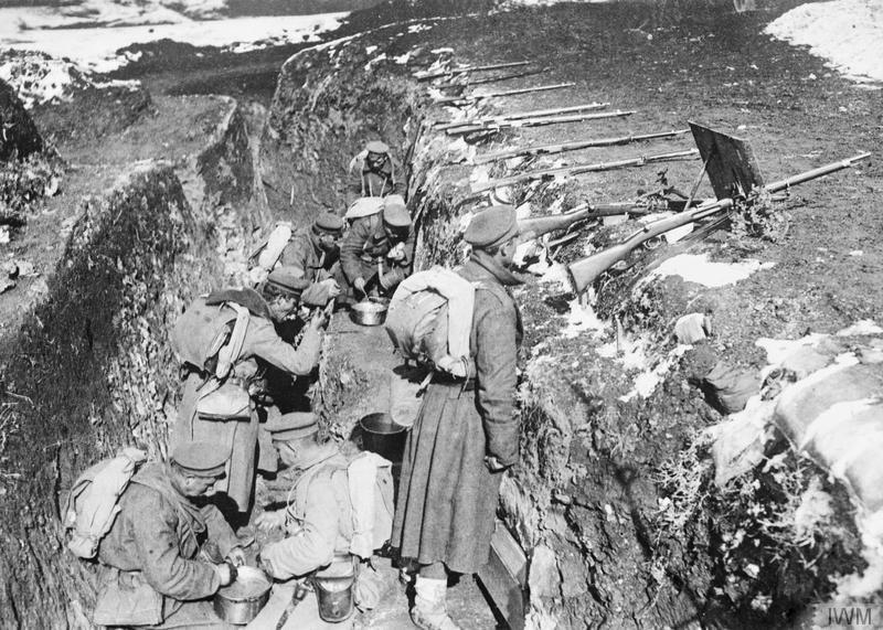 Resultado de imagen para las trincheras de la primera guerra mundial