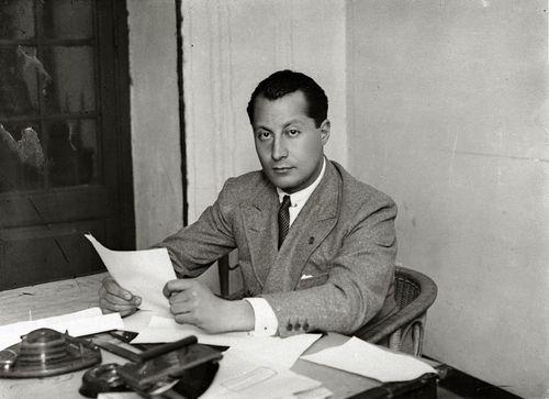 José Antonio en su despacho | Fuente