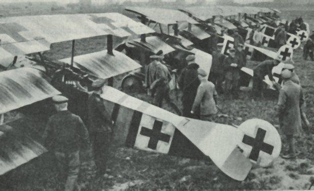 Escuadrón de Fokker DrI, el triplano más famoso de la guerra | Fuente