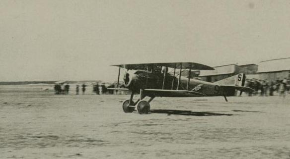 El Spad VII francés, uno de los cazas más rápidos | Fuente