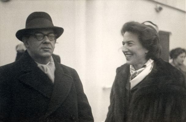 Berlin con su mujer Aline FUENTE