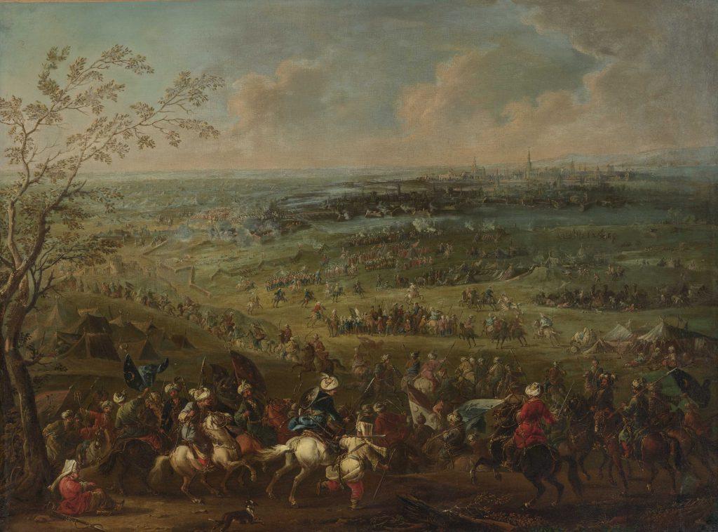 El sitio de Viena - August Querfurt