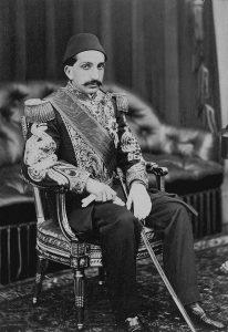 Abdul Hamid II todavía como príncipe