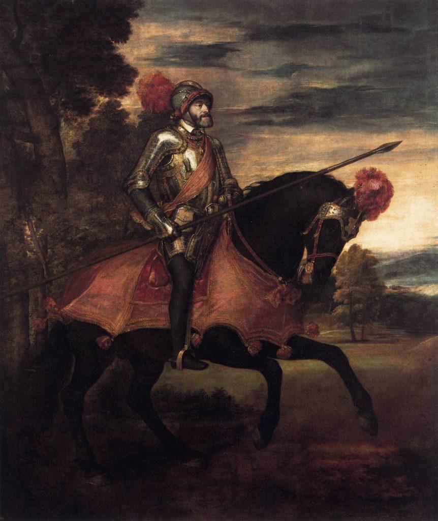Carlos V en Mühlberg | Tiziano