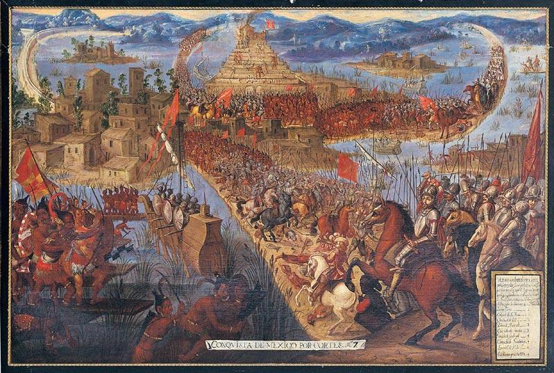 asedio tenochtitlan