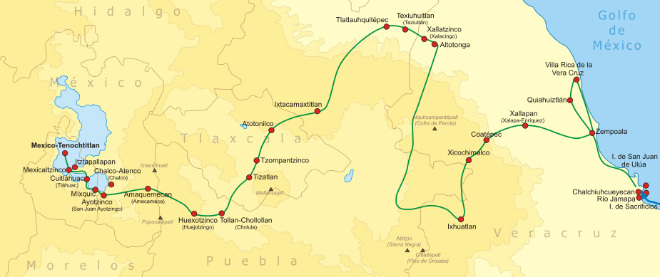 camino tenochtitlan