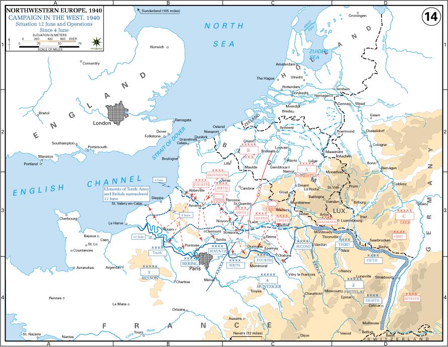 Batalla Francia 4-12 junio