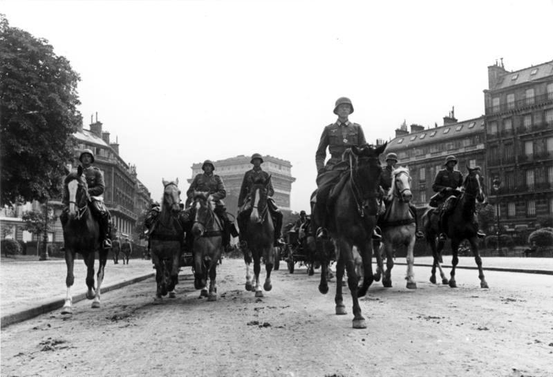 Tropas alemanas Paris 1940