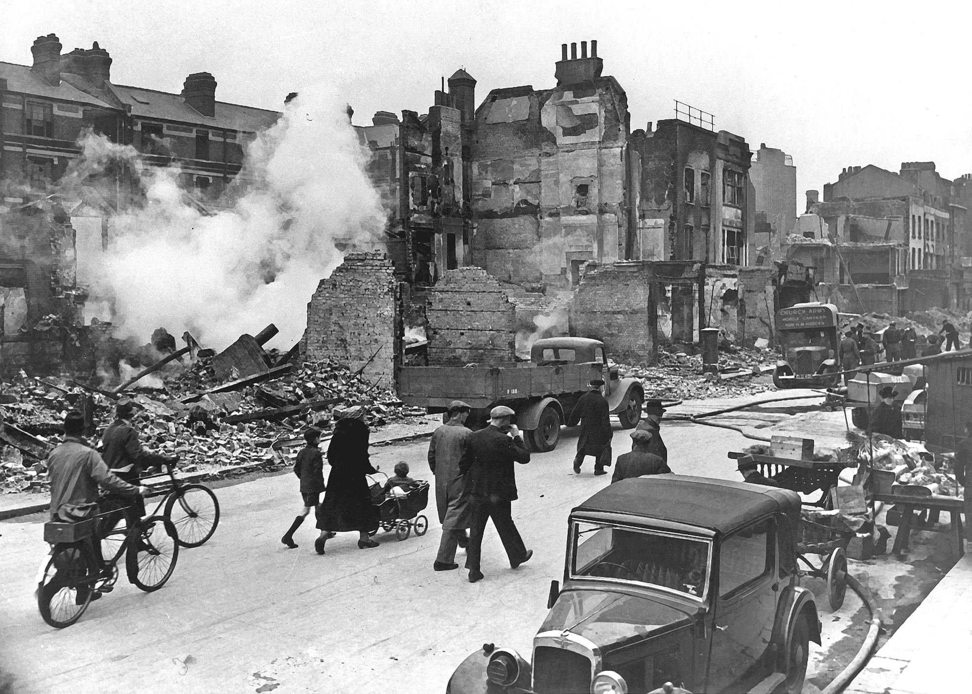 Londres bombardeo