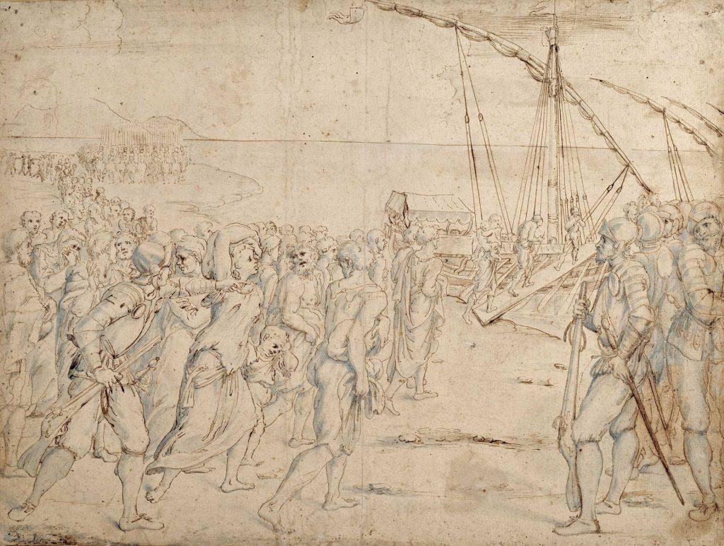 La expulsión de los moriscos - Vicente Carducho