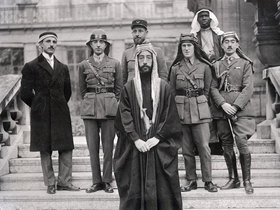Delegación de Faisal en Versalles (1919)