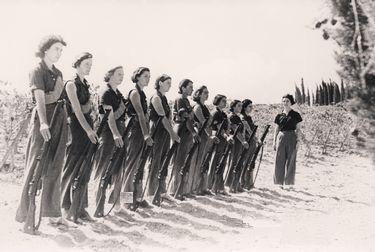 Hagana batallon femenino